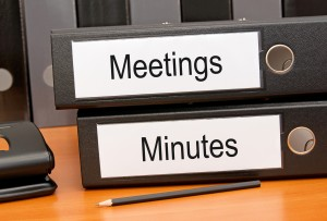 Meetings and Minutes Folders